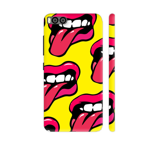 Crazy Lips Design Xiaomi Mi 6 Cover | Artist: Malls