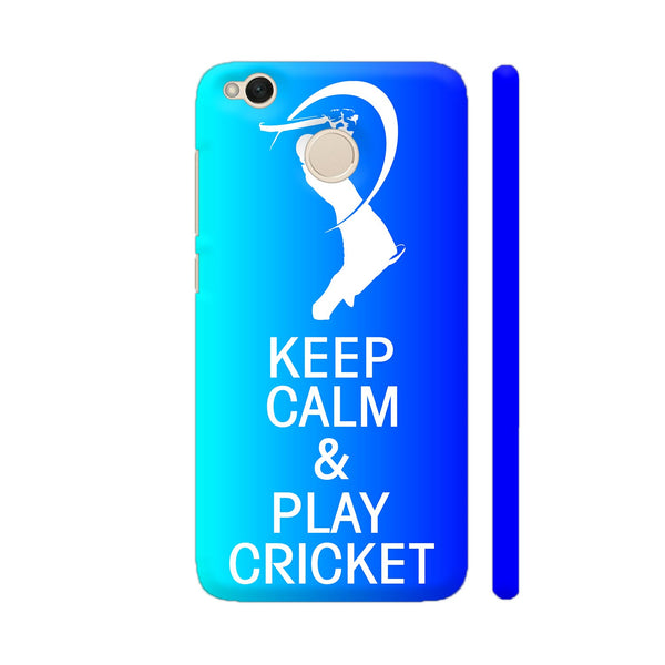 Cricket Fever IPL Special Xiaomi Redmi 4 Cover | Artist: Dolly P