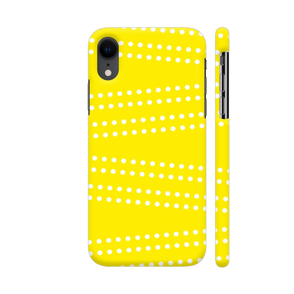 Cross Dot On Yellow iPhone XR Cover | Artist: Astha
