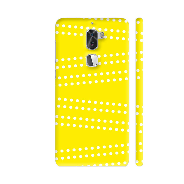 Cross Dot On Yellow Coolpad Cool 1 / Cool1 Dual Cover | Artist: Astha