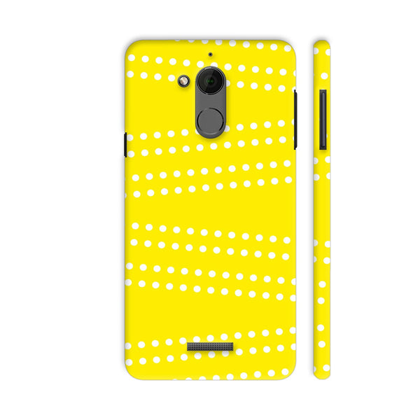 Cross Dot On Yellow Coolpad Note 5 Cover | Artist: Astha