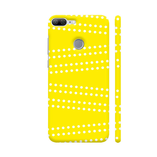 Cross Dot On Yellow Honor 9 Lite Cover | Artist: Astha