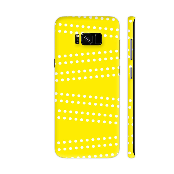 Cross Dot On Yellow Samsung S8+ Cover | Artist: Astha