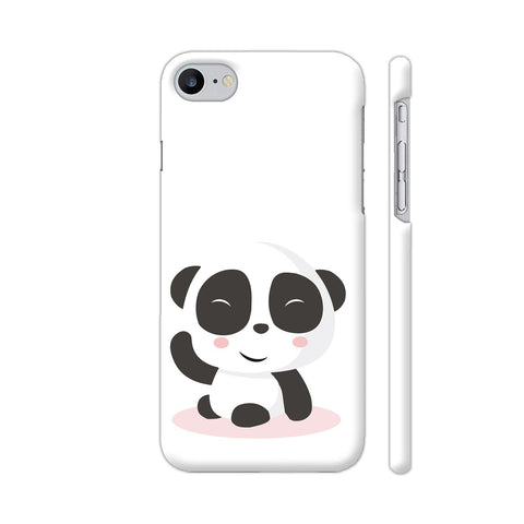 Cute Panda iPhone 7 Cover | Artist: Ashish Singh