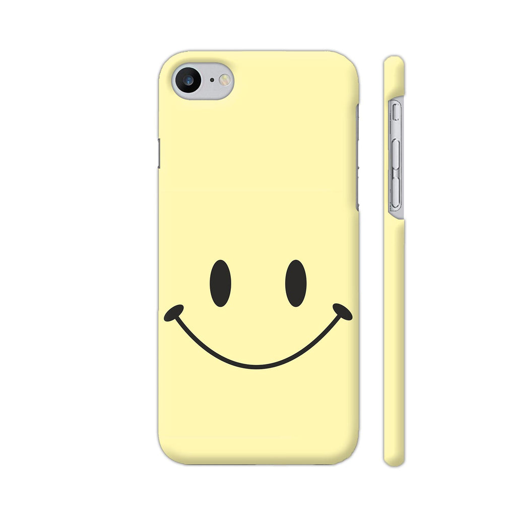 meet 37ac1 38229 Cute Smile On Light Yellow iPhone 7 Cover | Artist: Astha