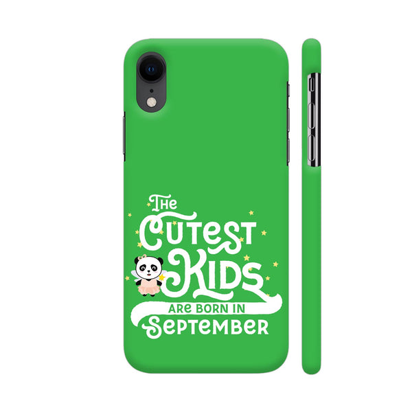 Cutest Kids Panda Born In September iPhone XR Cover | Artist: Torben