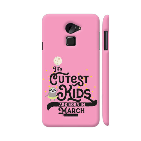 Cutest Kids Sloth Born In March Coolpad Note 3 Lite Cover | Artist: Torben