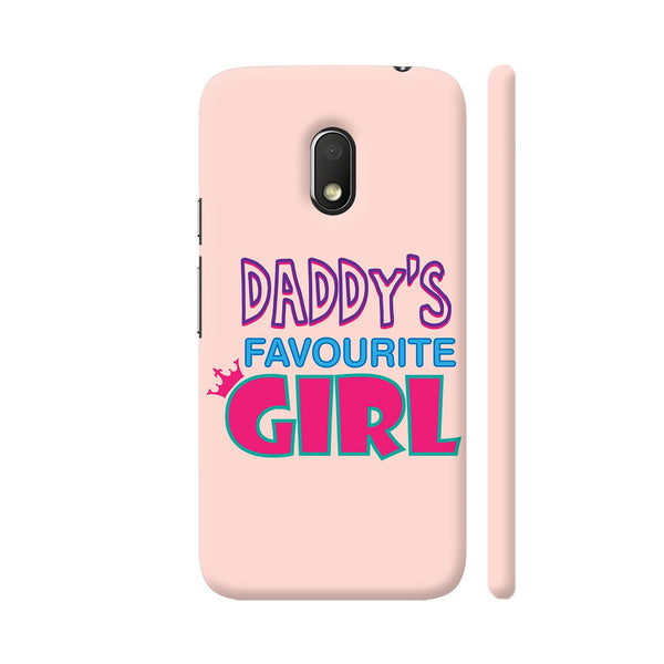 Daddy's Favourite Girl Moto G4 Play Cover | Artist: Dolly P