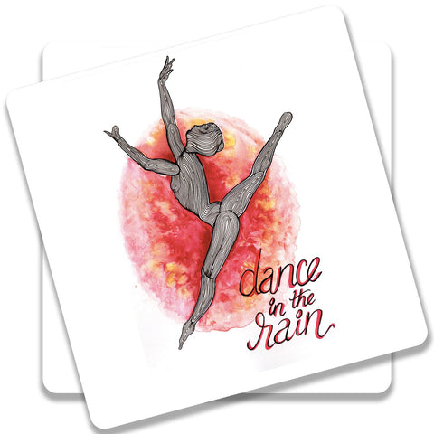 Dance In The Rain Coaster (Set of 2)