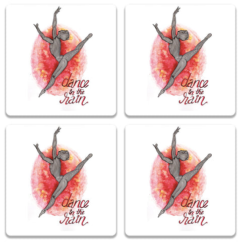 Dance In The Rain Coaster (Set of 4)