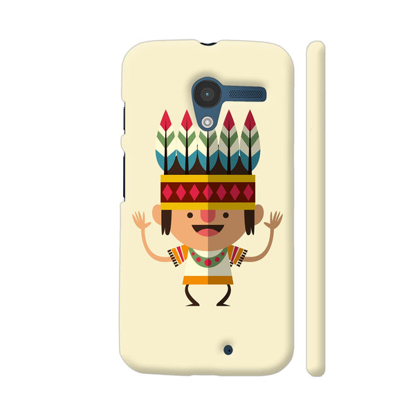 Dancing Indian Boy Moto X1 Cover | Artist: Abhinav