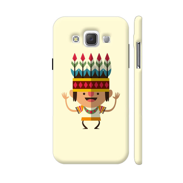 Dancing Indian Boy Samsung Galaxy E5 Case