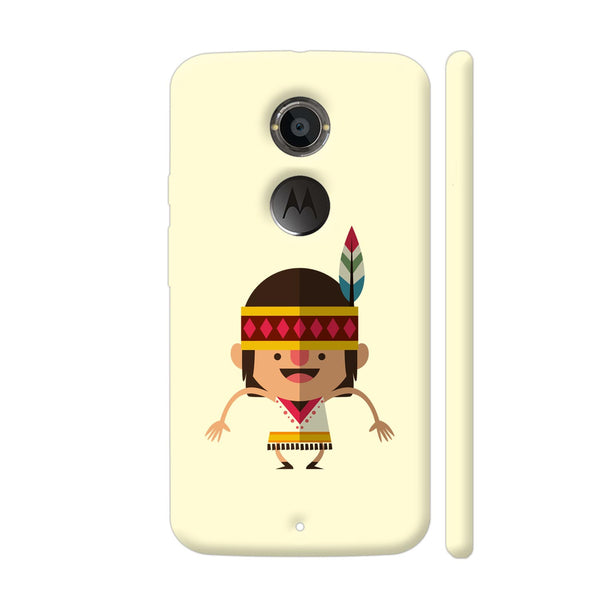 Dancing Indian Girl Moto X2 Cover | Artist: Abhinav