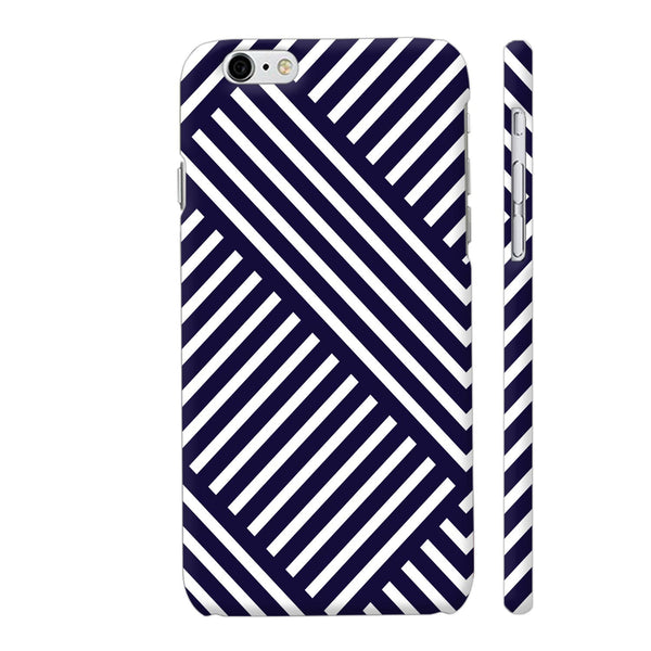 Diagonal Stripes Blue iPhone 6 / 6s Cover | Artist: Abhinav