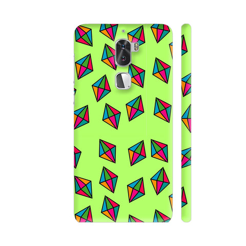 Diamond Pattern On Green Coolpad Cool 1 / Cool1 Dual Cover | Artist: Malls