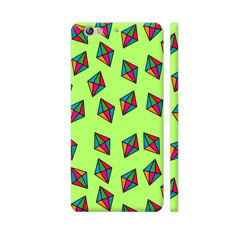 Diamond Pattern On Green Gionee S6 Cover | Artist: Malls