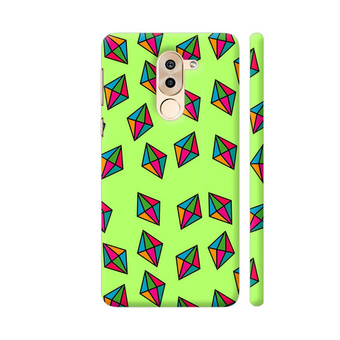 Diamond Pattern On Green Honor 6X Cover | Artist: Malls