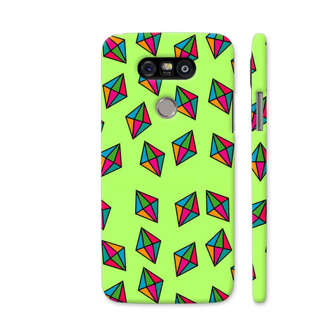 Diamond Pattern On Green LG G5 Cover | Artist: Malls