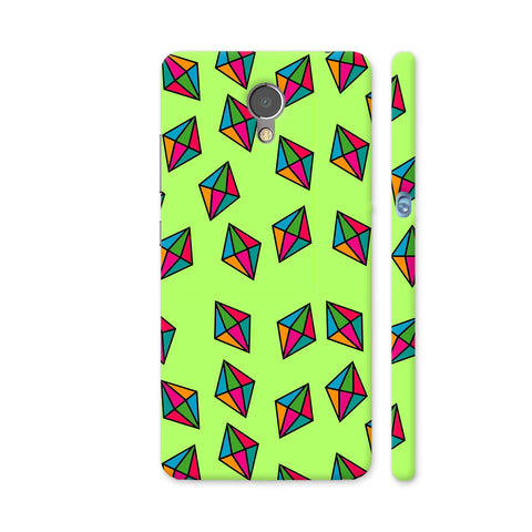 Diamond Pattern On Green Lenovo P2 Cover | Artist: Malls