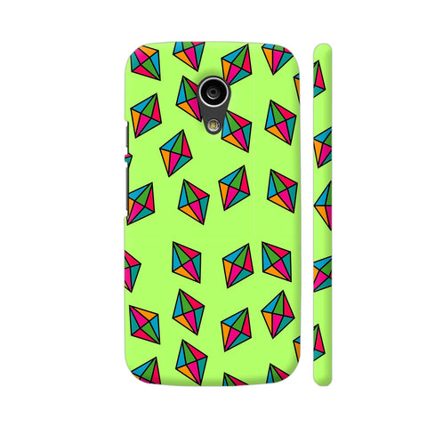 Diamond Pattern On Green Moto G2 Cover | Artist: Malls