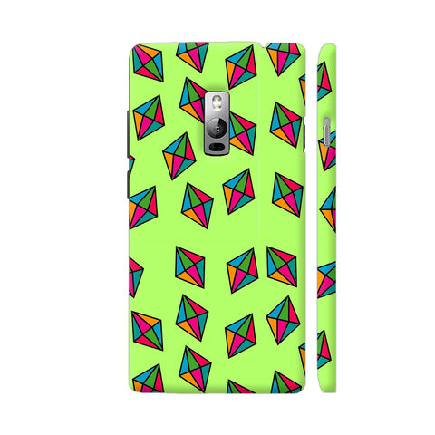 Diamond Pattern On Green OnePlus 2 Cover | Artist: Malls