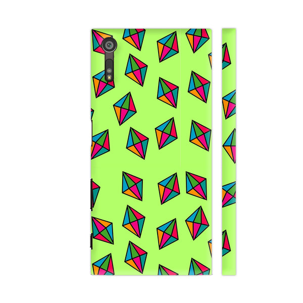 Diamond Pattern On Green Sony Xperia XZ / XZs Cover | Artist: Malls