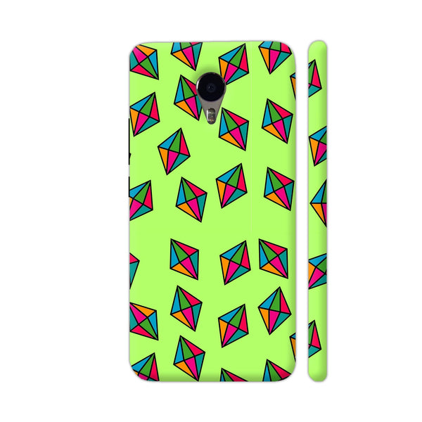 Diamond Pattern On Green YU Yunicorn Cover | Artist: Malls