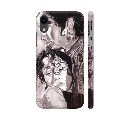 Dilip Kumar And Madhubala In Mughaleazam iPhone XR Cover | Artist: HeartAtArt