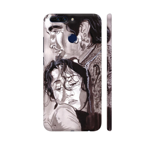 Dilip Kumar And Madhubala In Mughaleazam Huawei Honor 8 Pro Cover | Artist: HeartAtArt