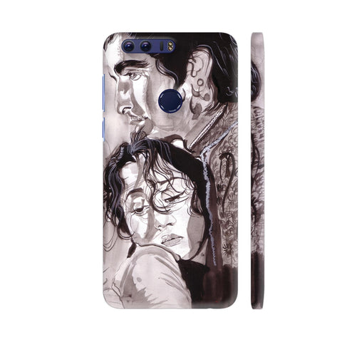 Dilip Kumar And Madhubala In Mughaleazam Huawei Honor 8 Cover | Artist: HeartAtArt