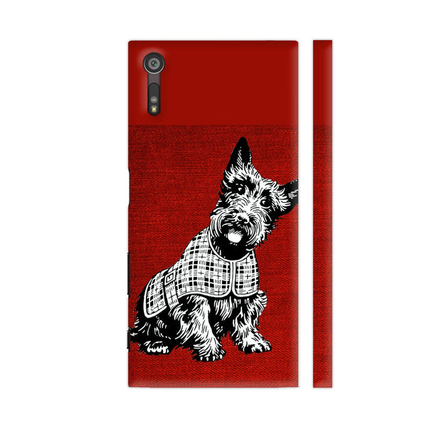 Dog Pet Cute Animal Xperia XZ / XZs Cover | Artist: WonderfulDreamPicture