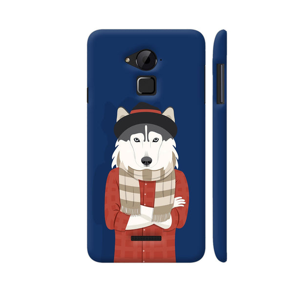 Dog Swag In Blue Coolpad Note 3 / Note 3 Plus Case