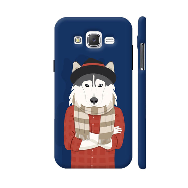 Dog Swag In Blue Samsung Galaxy J5 Case