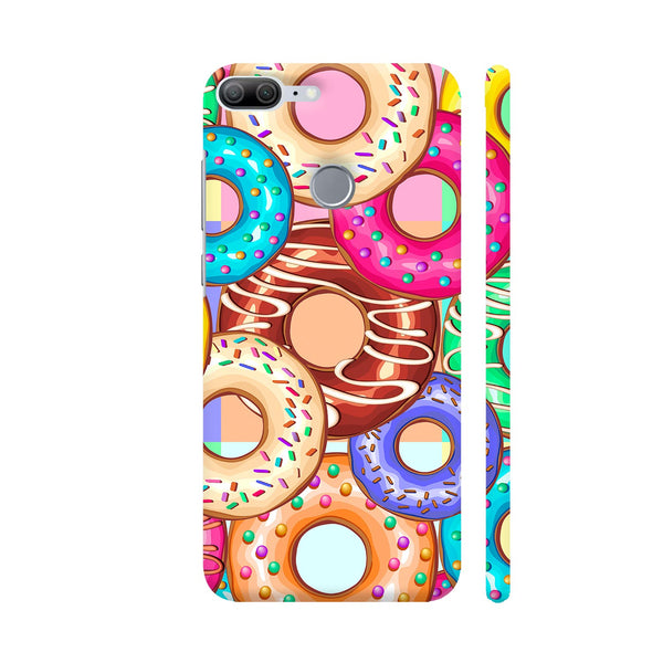 Donuts Punchy Pastel Flavours Honor 9 Lite Cover | Artist: BluedarkArt