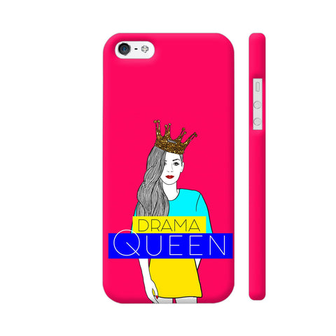 Drama Queen iPhone SE Cover | Artist: Disha