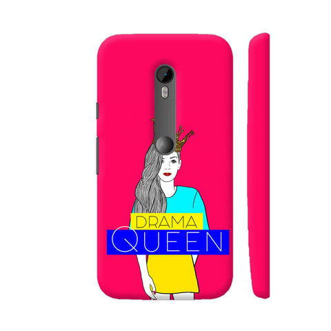Drama Queen Moto G Turbo Cover | Artist: Disha