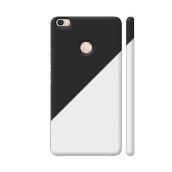 Dual Color In Black Grey Xiaomi Mi Max Cover | Artist: Mita