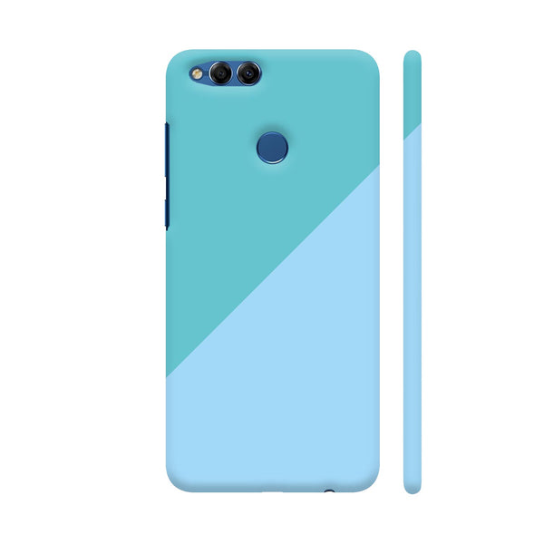 Dual Color In Sky Blue Shades Honor 7X Cover | Artist: Mita