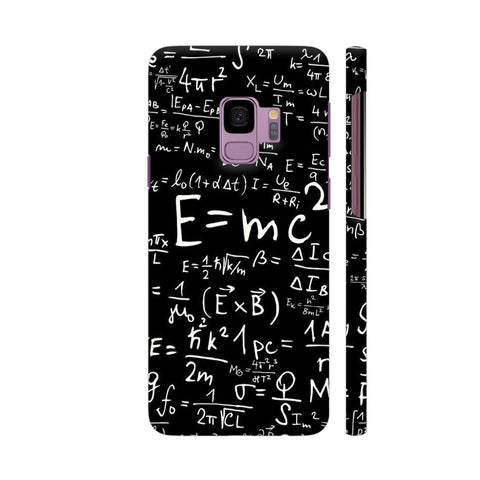 E Equal To MC Square Samsung S9 Cover | Artist: Ashish Singh