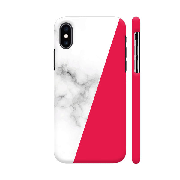 Elegant Marble Bright Pink iPhone XS Max Cover | Artist: Astha