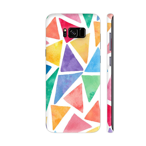 Elegant Purple Watercolor Marble Samsung S8+ Cover | Artist: Mita