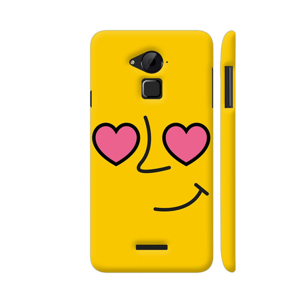 Emoticon 1 On Yellow Coolpad Note 3 / Note 3 Plus Case