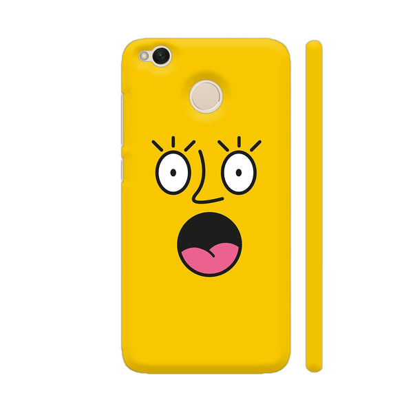 Emoticon 2 On Yellow Xiaomi Redmi 4 Cover | Artist: Abhinav