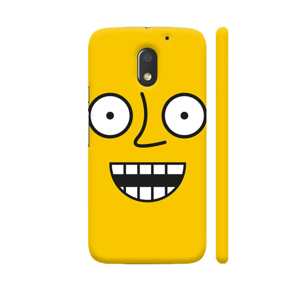 Emoticon 4 On Yellow Motorola Moto E3 / Moto E3 Power Case