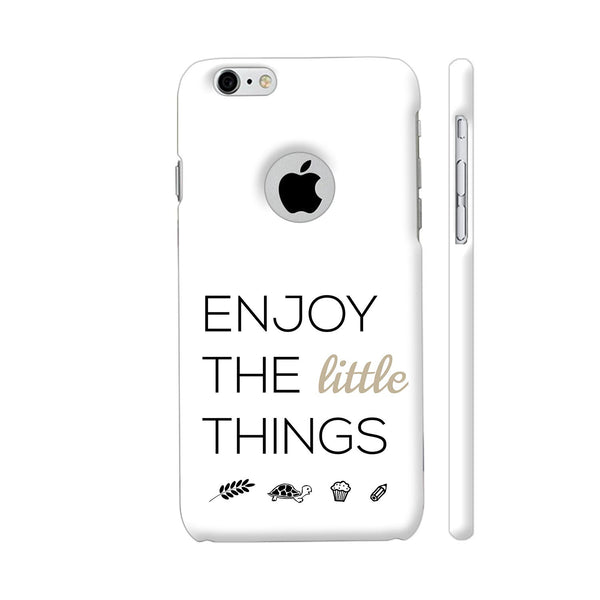 Enjoy The Little Things iPhone 6 / 6s Logo Cut Cover | Artist: Adeela Abdul Razak