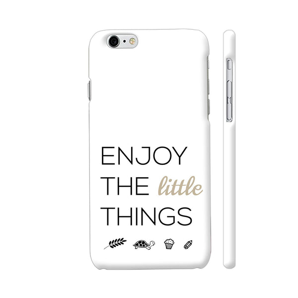 Enjoy The Little Things iPhone 6 / 6s Cover | Artist: Adeela Abdul Razak