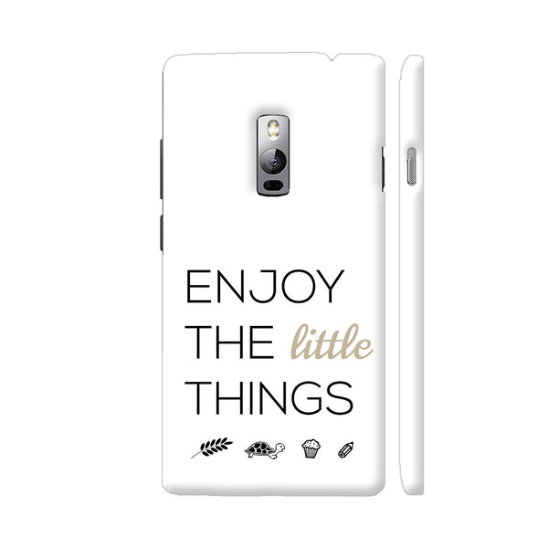 Enjoy The Little Things OnePlus 2 Cover | Artist: Adeela Abdul Razak