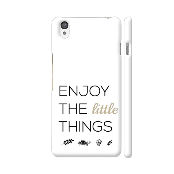 Enjoy The Little Things OnePlus X Cover | Artist: Adeela Abdul Razak