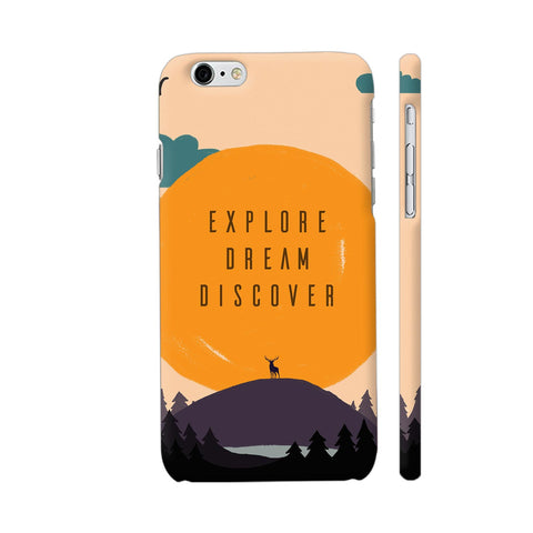 Explore Dream Discover iPhone 6 Plus / 6s Plus Cover | Artist: Disha