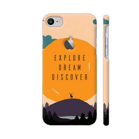 Explore Dream Discover iPhone 7 Logo Cut Cover | Artist: Disha